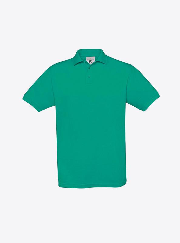 Herren Polo Shirt Mit Guter Stickerei Besticken Lassen Bundc Safran Pu409 Pacific Green
