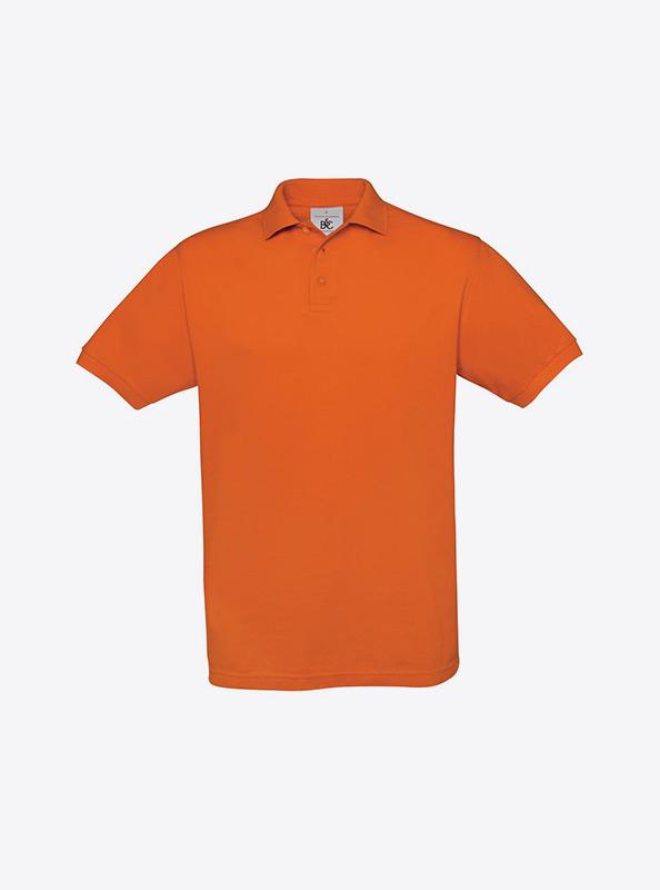 Herren Polo Shirt Selber Gestalten Und Drucken Bundc Safran Pu409 Pumking Orange