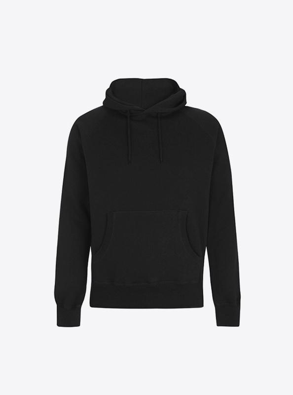 Herren Sweatshirt Hoodie Bedrucken Mit Logo Continental N51p Black