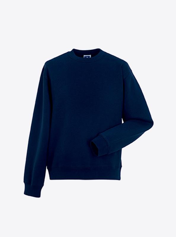 Herren Sweatshirt Mit Siebdruck Bedrucken Lassen Russell 262M French Navy