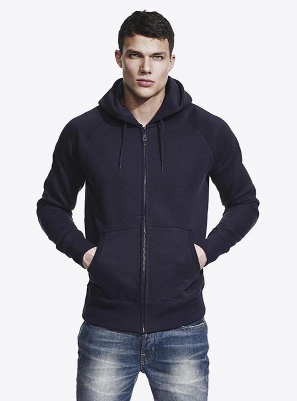 Herren Sweatshirt Zip Hoodie Continental N51z