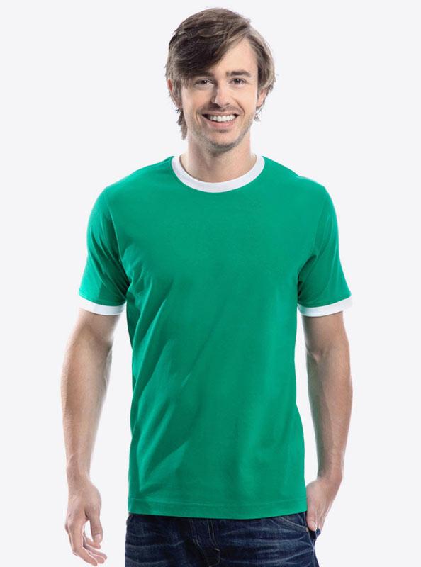 Herren T Shirt Bedrucken Sonar Soccer 2082
