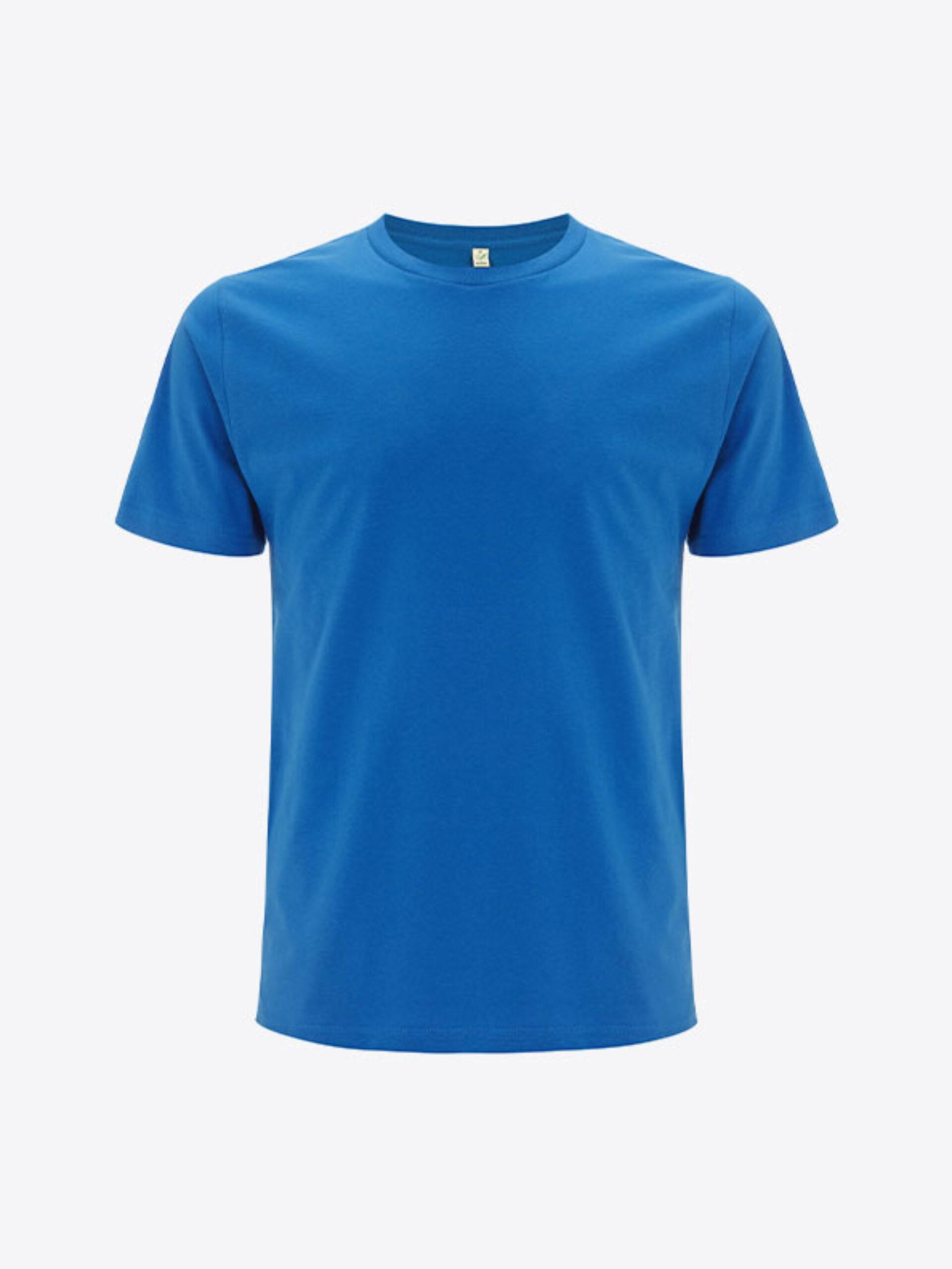 Herren T Shirt Earth Positive Ep01 Bright Blue