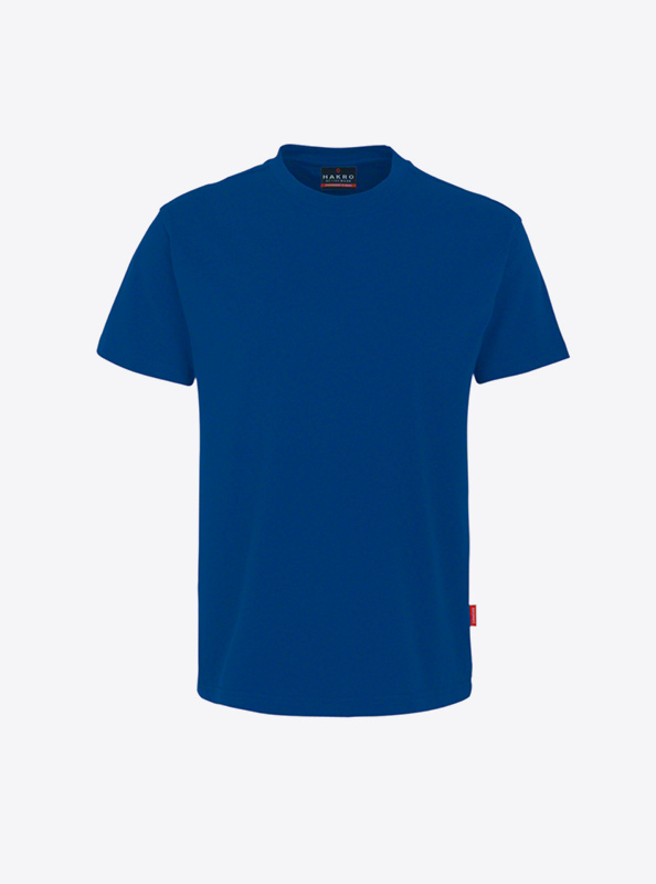 Herren T Shirt Gestalten Und Drucken Hakro 281 Preformance Ultramarineblau
