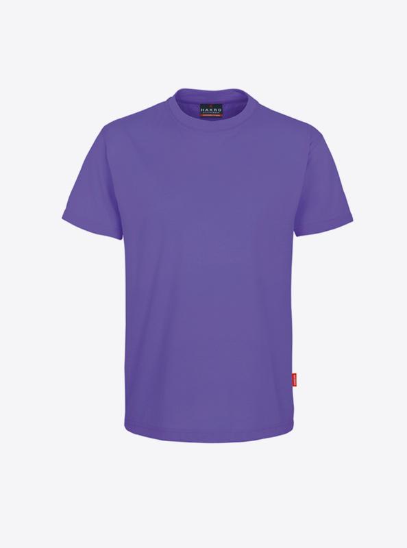 Herren T Shirt In Der Schweiz Mit Logo Drucken Lassen Hakro 281 Preformance Lavendel