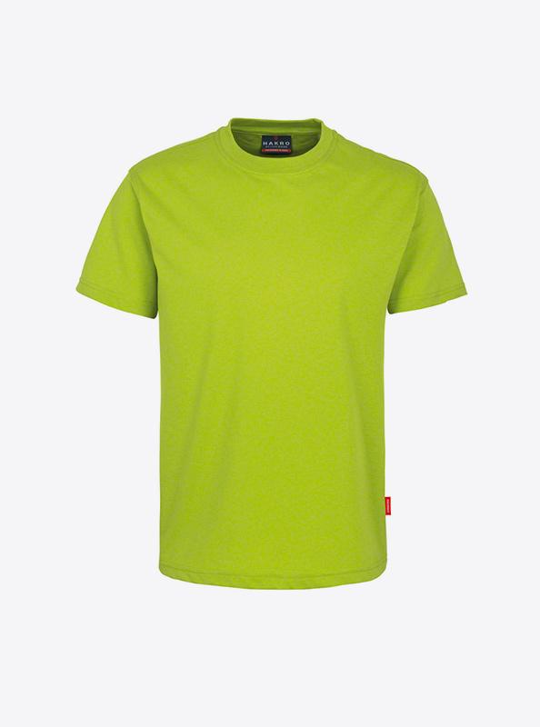 Herren T Shirt In Zuerich Bedrucken Lassen Hakro 281 Preformance Kiwi