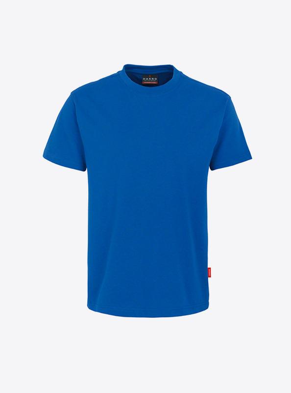 Herren T Shirt Individuell Bedrucken Hakro 281 Preformance Royal