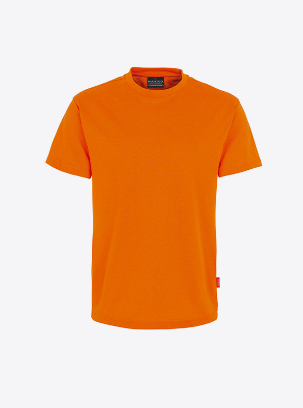Herren T Shirt Individuell Drucken Lassen Hakro 281 Preformance Orange