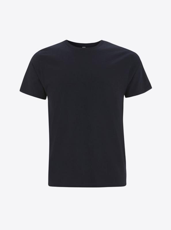 Herren T Shirt Mehrfarbig Bedrucken Earth Positive Ep01 Navy