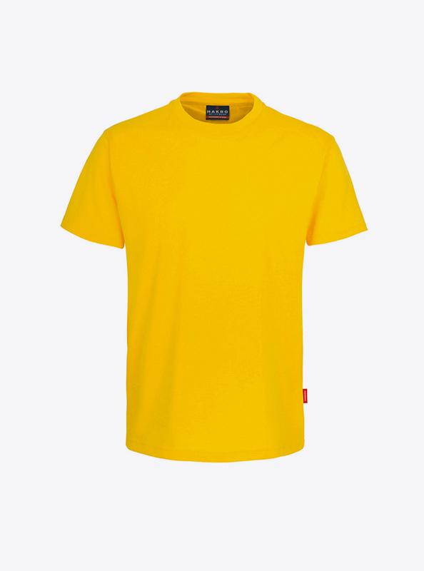 Herren T Shirt Mit Grossem Logo Drucken Lassen Hakro 281 Preformance Sonne