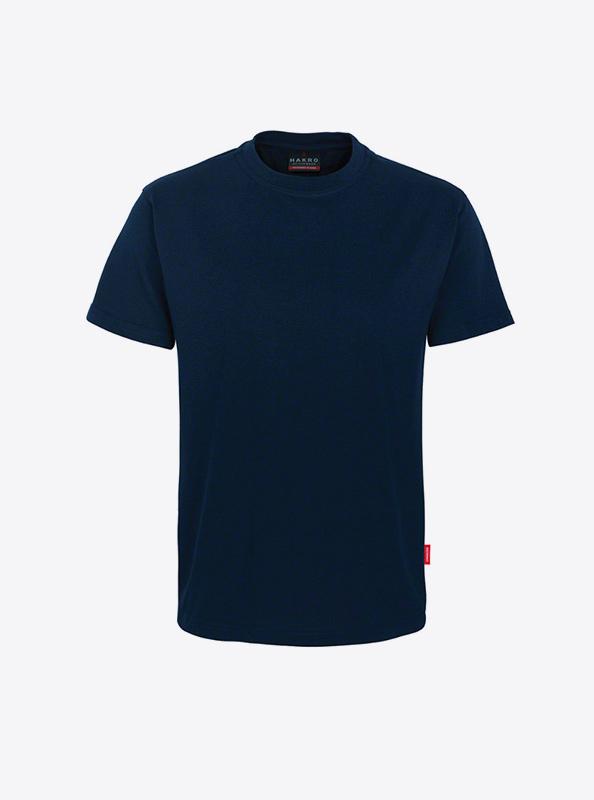 Herren T Shirt Mit Logo Drucken Hakro 281 Preformance Tinte