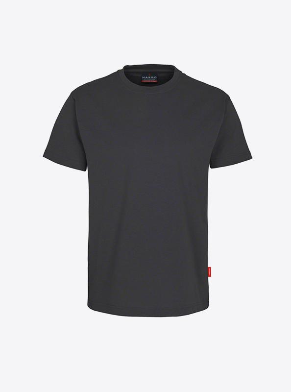Herren T Shirt Mit Logo Drucken Oder Besticken Hakro 281 Preformance Anthrazit