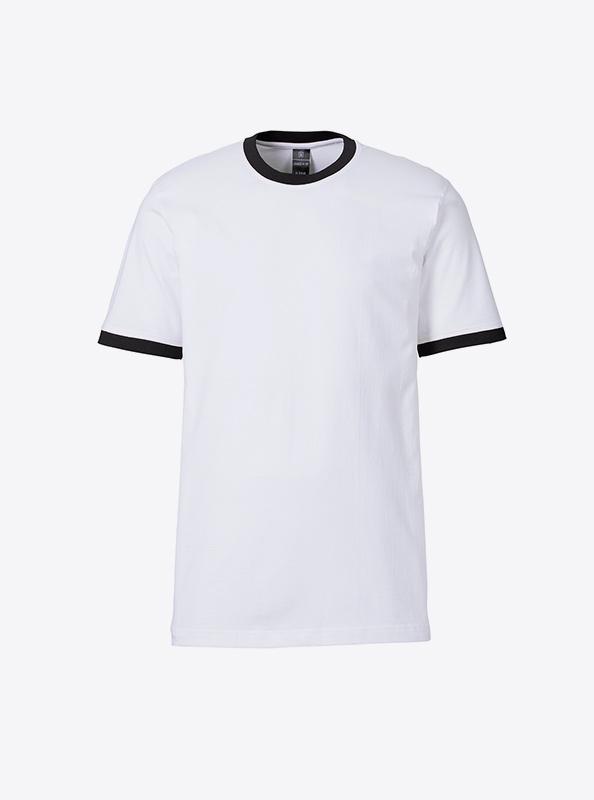 Herren T Shirt Mit Logo Drucken Sonar Soccer 2082 White Black