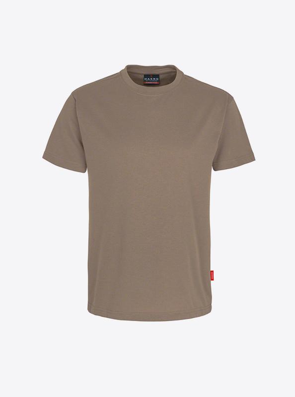 Herren T Shirt Mit Siebdruck Drucken Lassen Hakro 281 Preformance Nougat