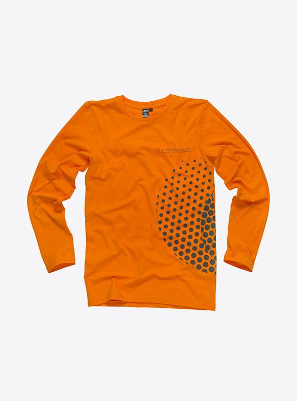 Herren T Shirts Langarm Mit Firmen Logo Drucken