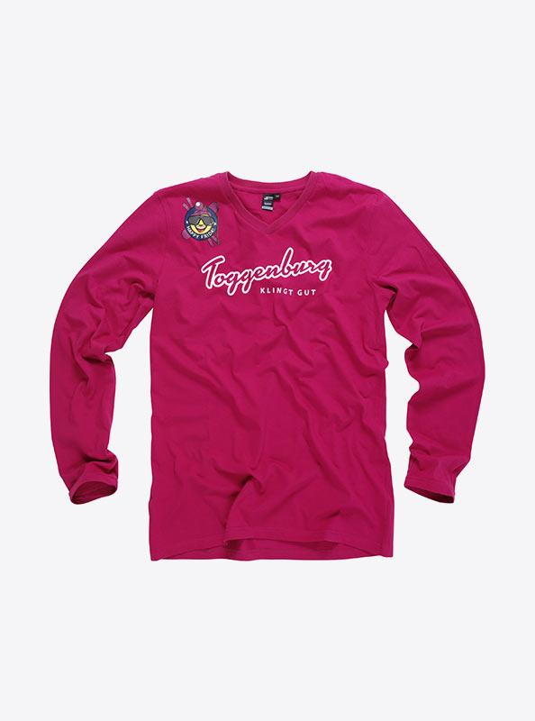 Herren T Shirts Langarm Mit Logo Drucken