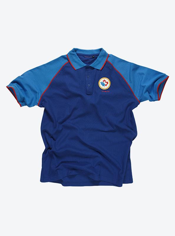Individuelles Polo Shirt Mit Logo Drucken