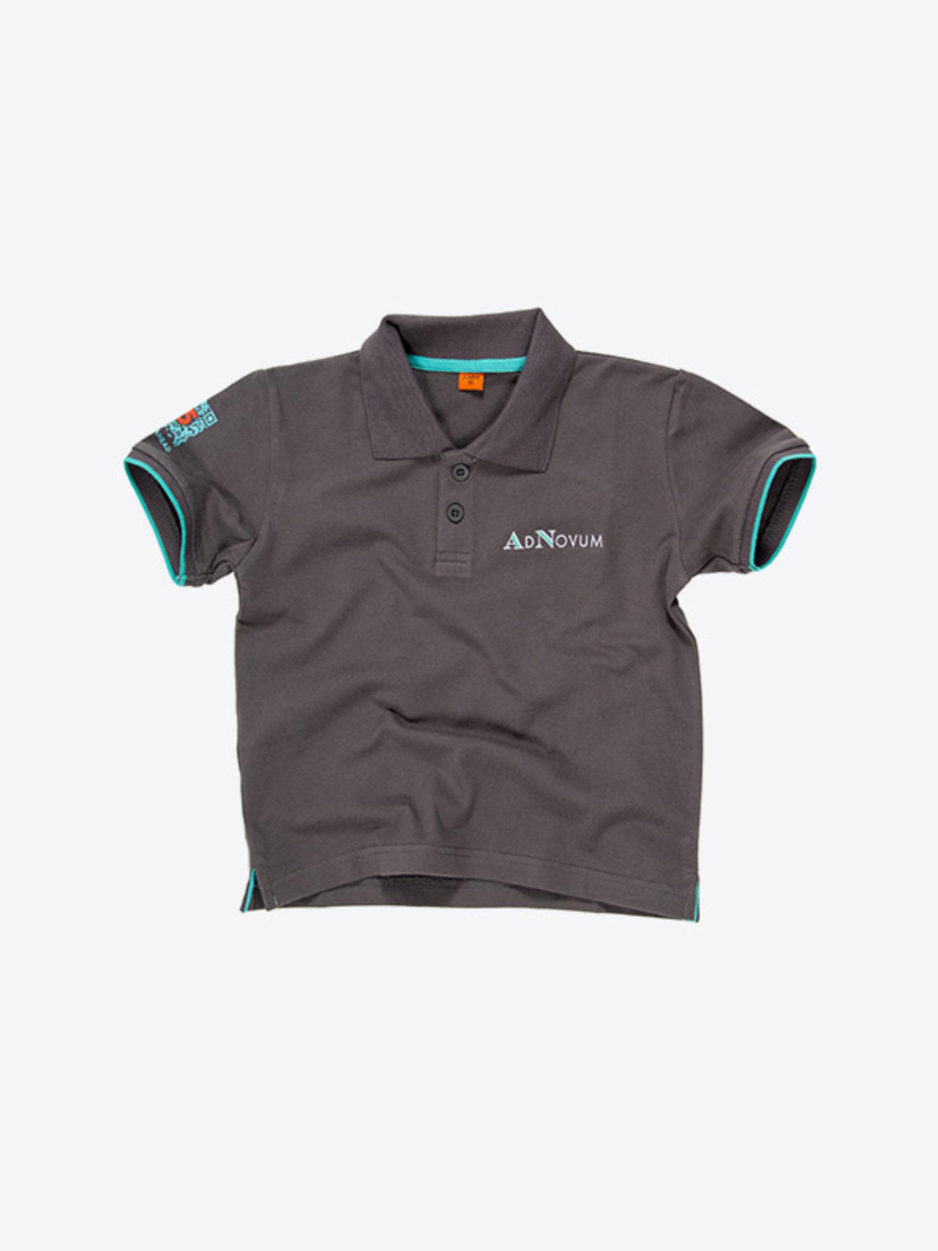 Kinder Polo Shirt Kurzarm Mit Logo Drucken