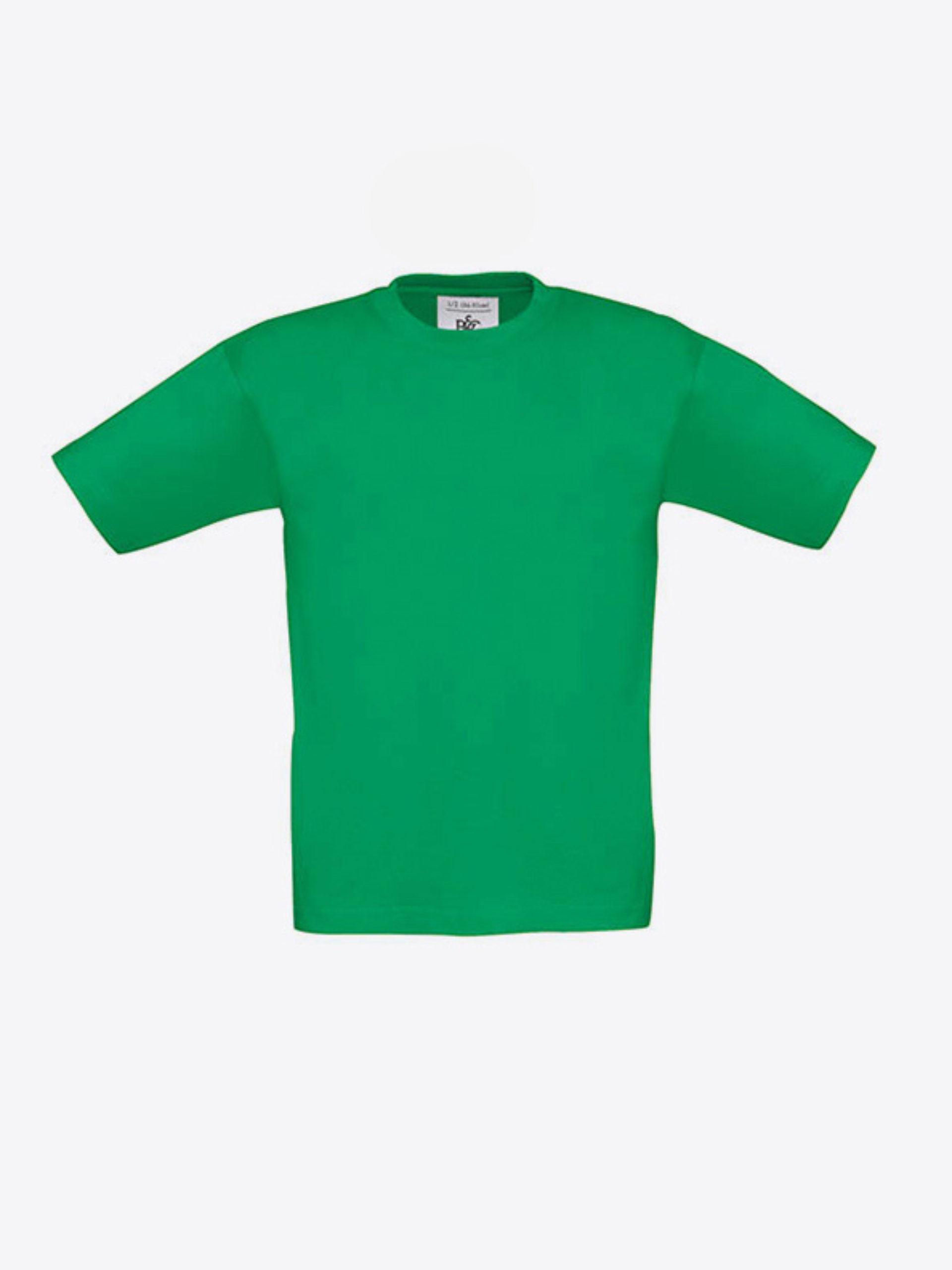 Kinder T Shirt Bundc Mit Siebdruck Bedrucken Lassen Exact 190 Kelly Green