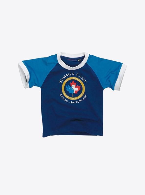 Kinder T Shirts Kurzarm Mit Logo Drucken