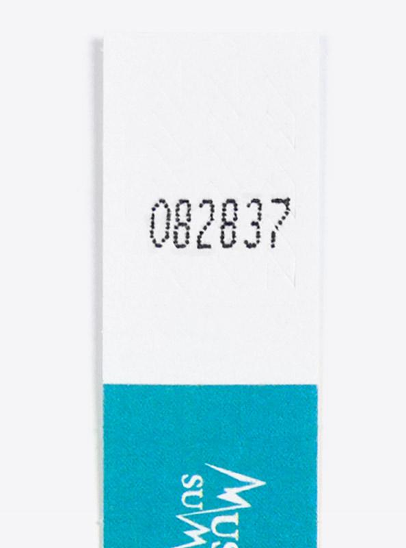 Kontrollband Eintrittsband Laser Tyvek Mit Firmenlogo Bedruckt