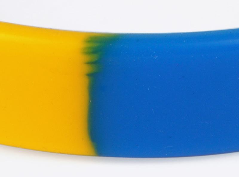 Kontrollband Silikon Farbverlauf