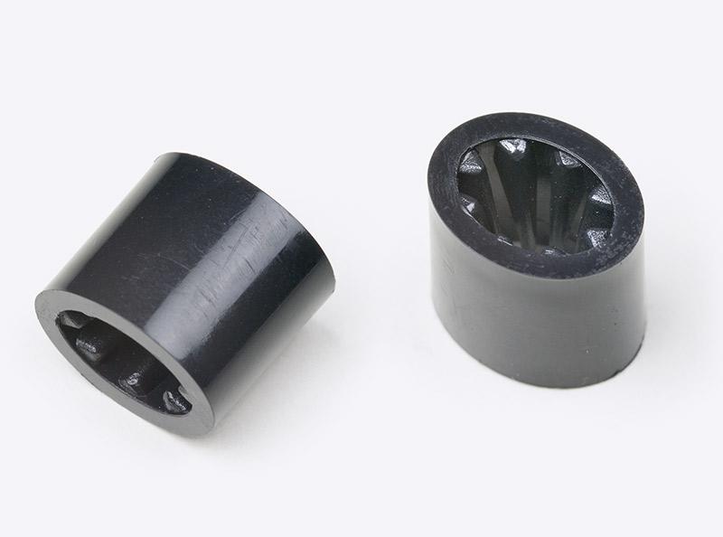 Kontrollband Verschluss Kunststoff Schwarz