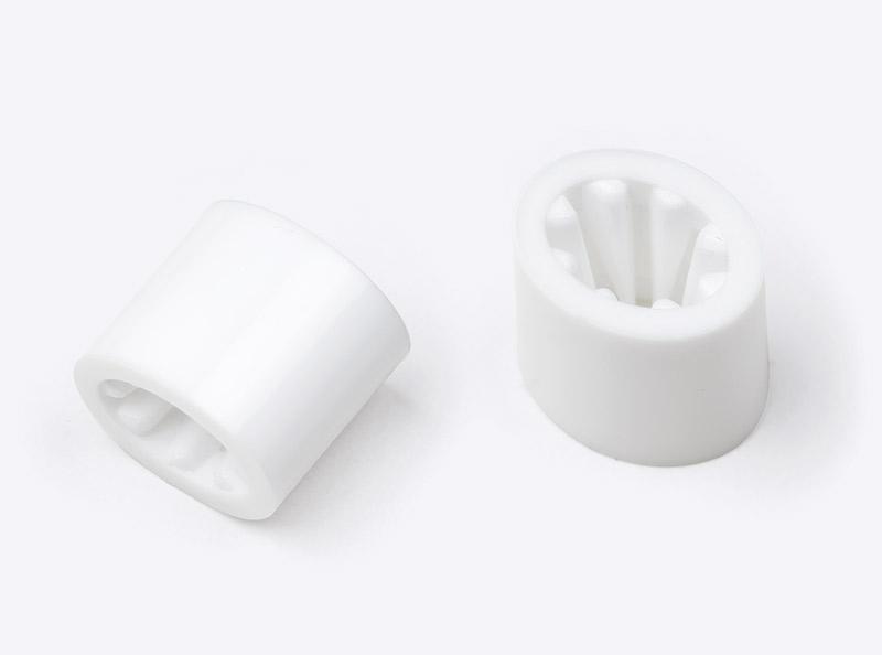 Kontrollband Verschluss Kunststoff Weiss