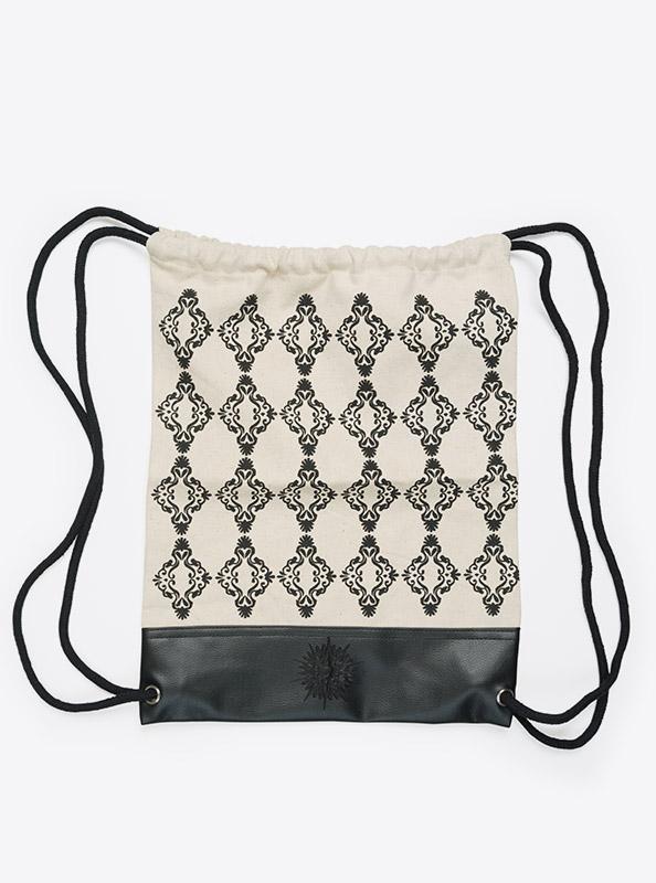 Kordel Rucksack Hipster Bag Bedrucken Mit Muster