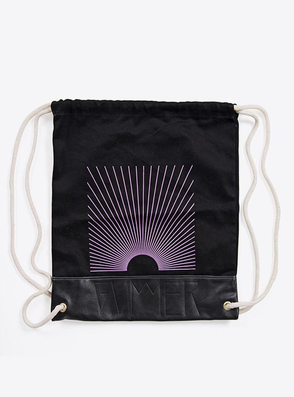 Kordel Rucksack Hipster Bag Bedruckt Mit Logo