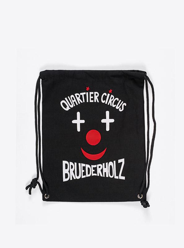 Kordel Rucksack Hipster Bag Bedruckt Mit Logo Bruderholz