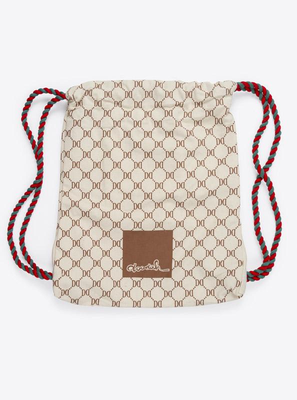 Kordel Rucksack Hipster Bag Bedruckt Mit Logo Doodah