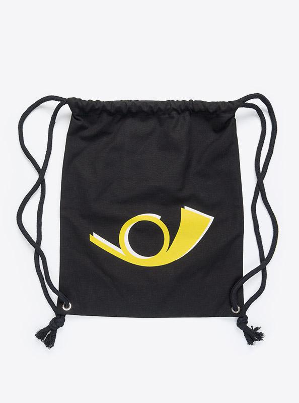 Kordel Rucksack Hipster Bag Bedruckt Mit Logo PostAuto