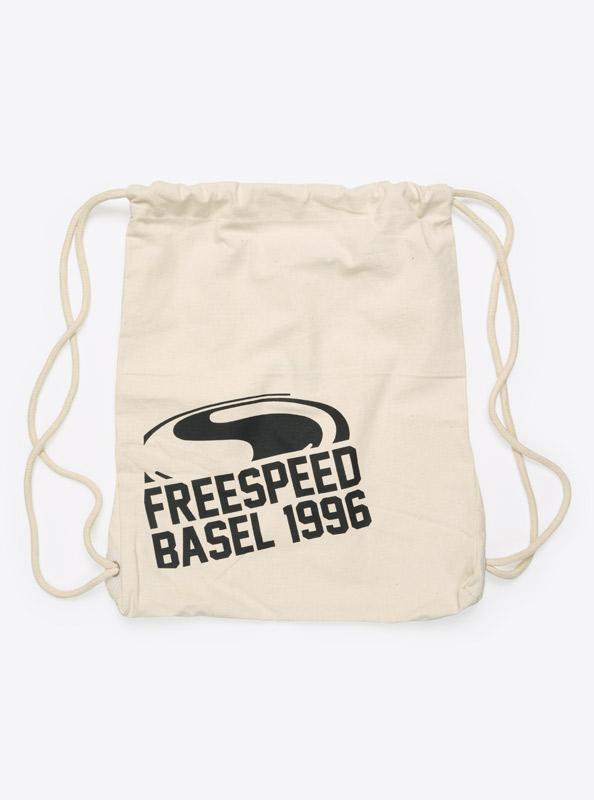 Kordel Rucksack Hipster Bag Mit Logo Bedruckt