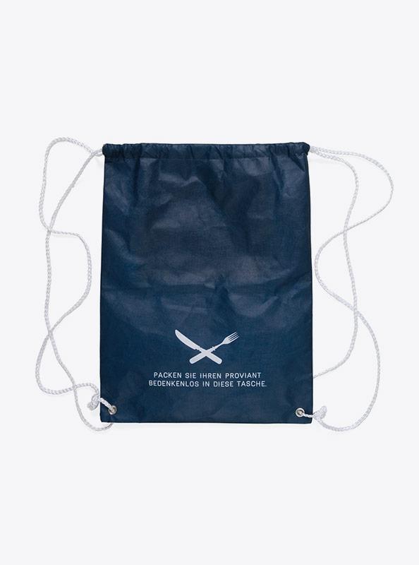 Kordel Tasche Gym Bag Bedruckt Firmenlogo