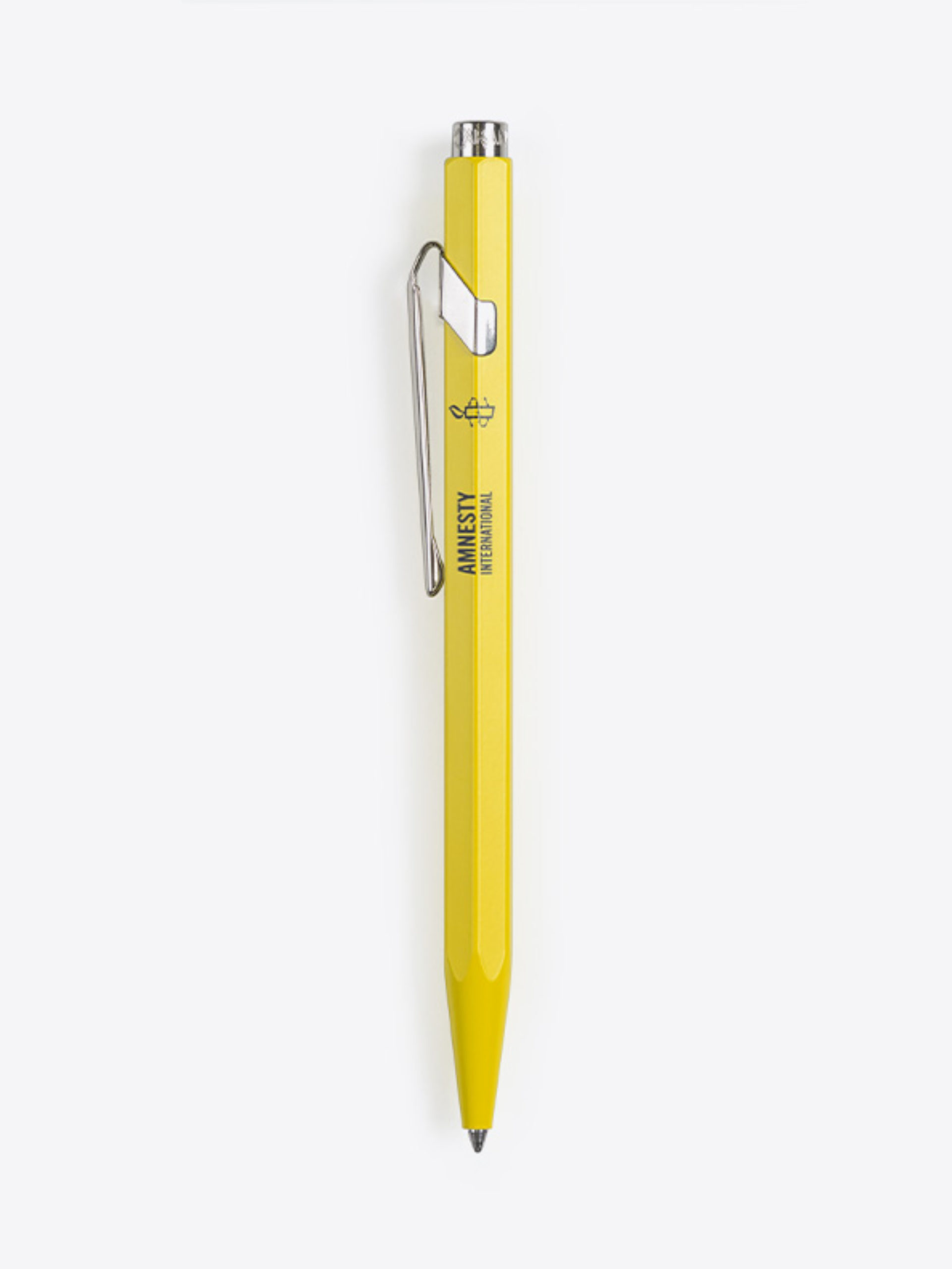 Kugelschreiber 849 Caran Dache Beschriften Amnesty