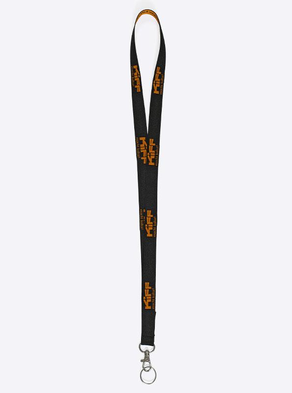 Lanyard 381 Classic Schluesselband Bedrucken Mit Einwebung Polyester Mit Steckschnalle Kiff