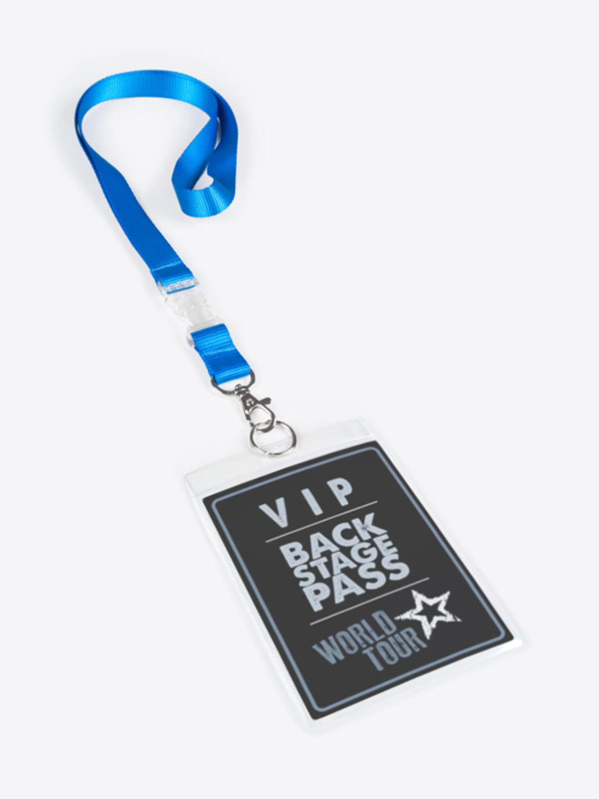 Lanyard Ausweishuellen Backstage Pass