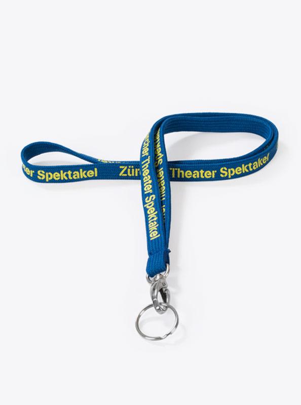 Lanyard Drucken Mit Logo Drucken Knitted Tubular Band Mit Schluesselring Theaterspektakel