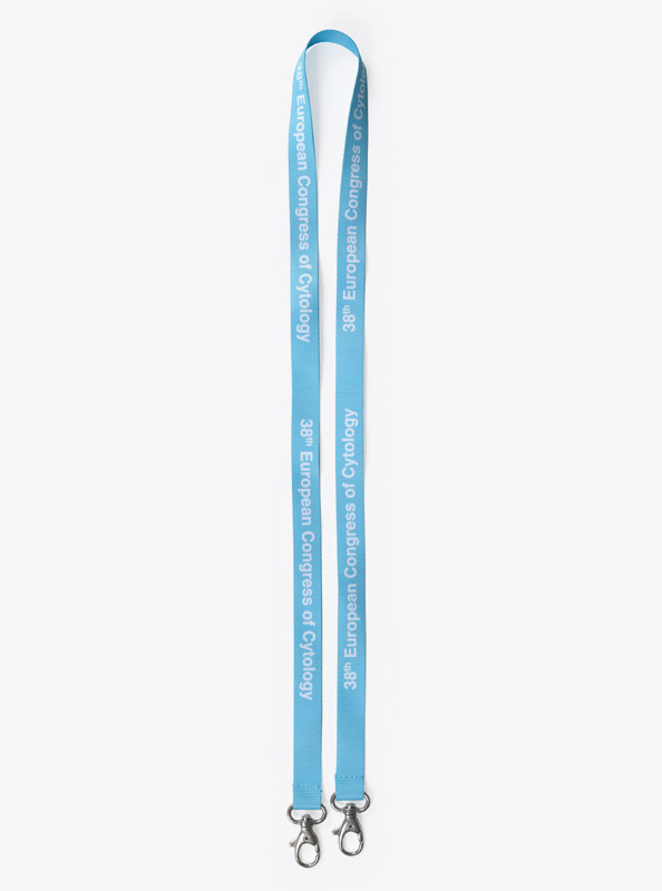 Lanyard Polyester Light European Congress
