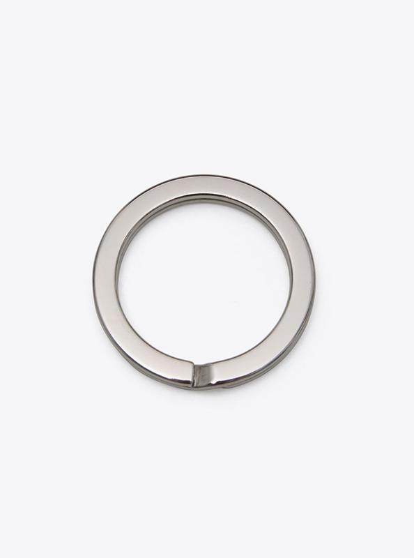 Schlüsselring ohne Gravur Silber