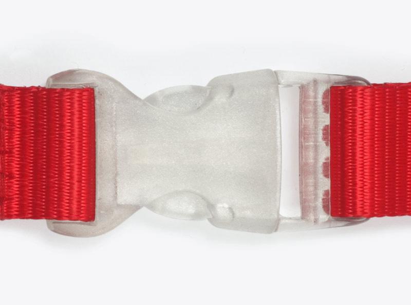 Lanyard Steckschnalle Transparent