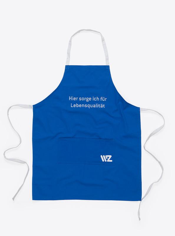 Latzschuerzen Mit Logo Bedruckt