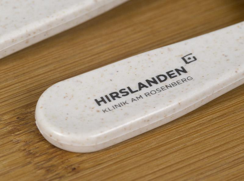 Lumchboxen Hirslanden Spital Tampondruck