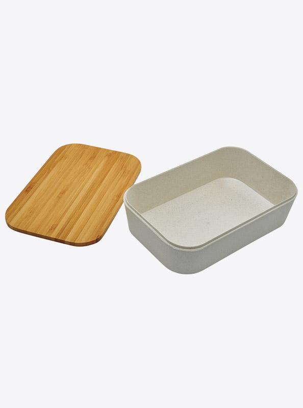 Lunchbox Akita Weizen Bambus Mit Logo Zurich