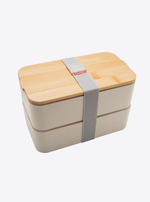 Lunchbox Bentobox Mihara Weiss Mit Logo Motiv Bedrucken