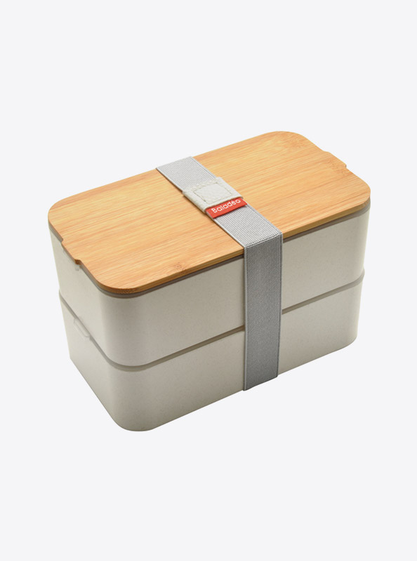 Lunchbox Bentobox Mihara Weizen Mit Logo Motiv Bedrucken
