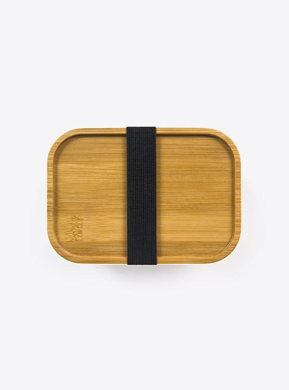 Lunchbox Deluxe Lasergravur Klein Top Bambus