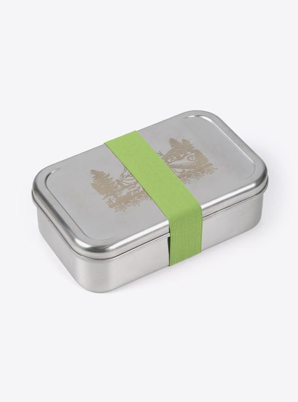 Lunchbox Edelstahl Laserdruck Praegung Bestellen