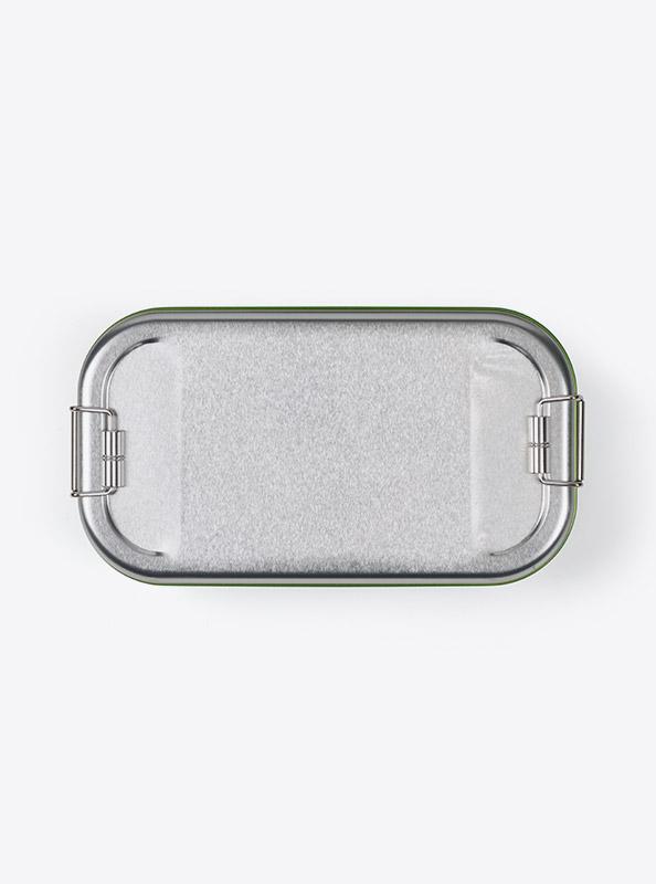 Lunchbox Green Mit Logo Praegung Gravur Bestellen